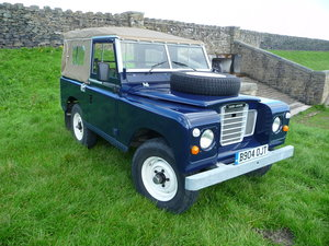 Picture of 1984 LAND ROVER SERIES 3 – X COAST GUARD – FULLY REBUILT SOLD