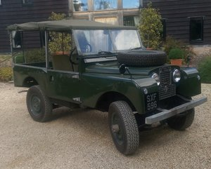 Picture of 1957  Series 1 Land Rover. ex Civil Defence. VGC  For Sale