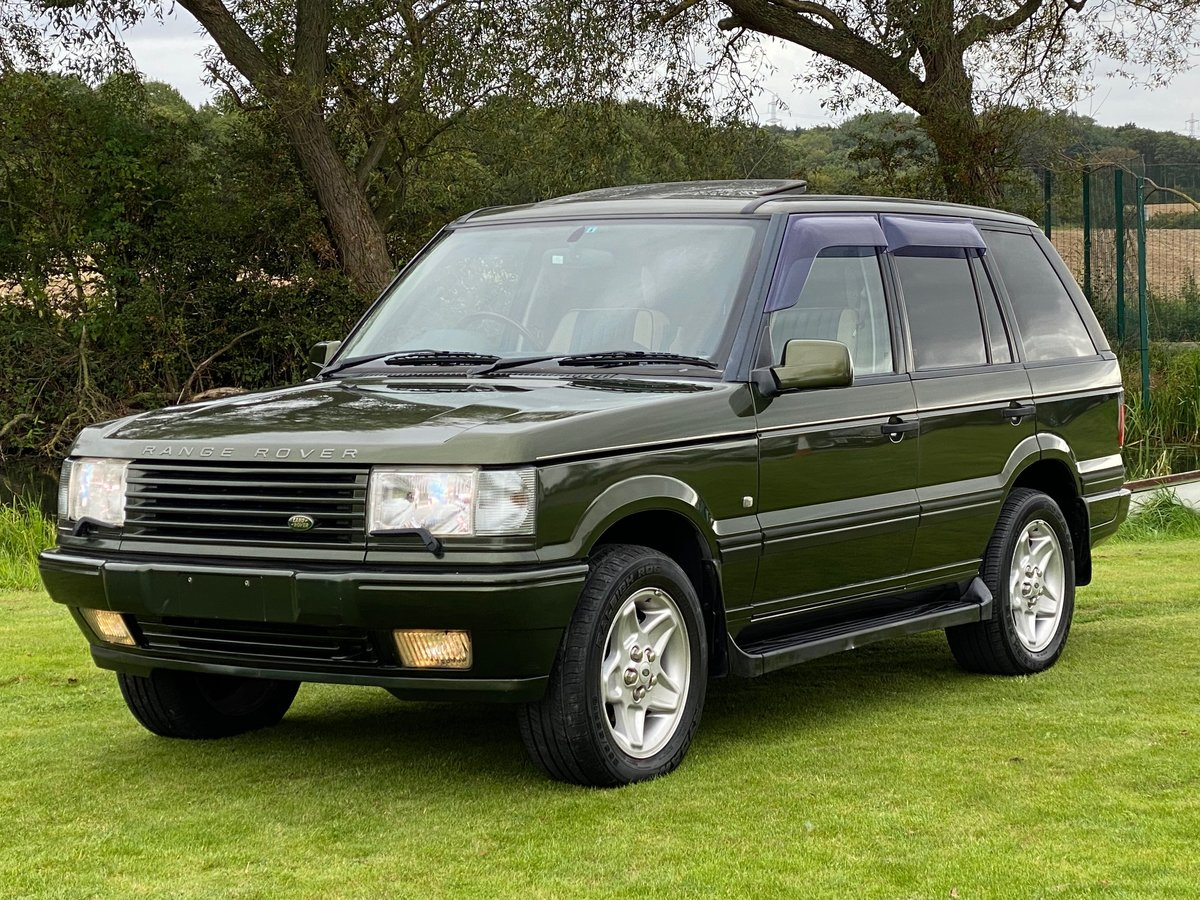 1999 LAND ROVER RANGE ROVER 4.6 INVESTABLE AUTOBIOGRAPHY EDITION For Sale (picture 1 of 6)