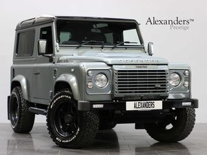15 15 LAND ROVER DEFENDER 90 TWISTED HARD TOP MANUAL