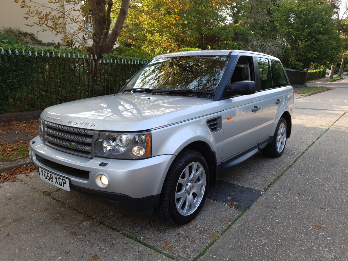 2008 Outstanding Range Rover Sport HSE FSH 85400 Miles  SOLD (picture 1 of 6)