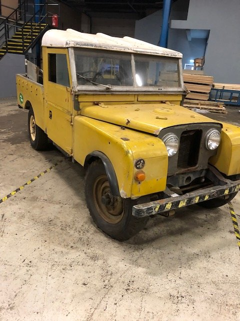 1957 Land Rover Series 1 for restoration For Sale (picture 1 of 5)