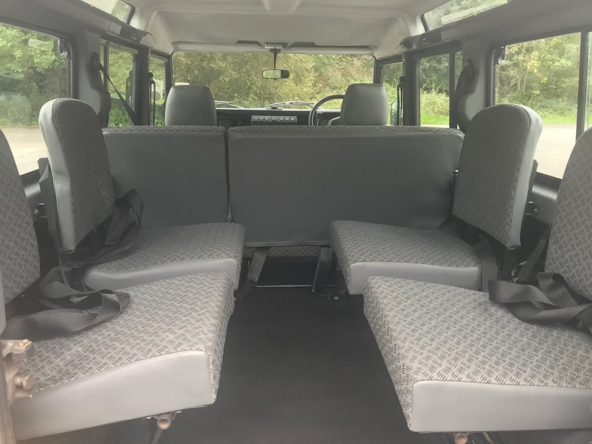 2003 Land Rover Defender 110 TD5 County 9 Seats For Sale (picture 6 of 6)