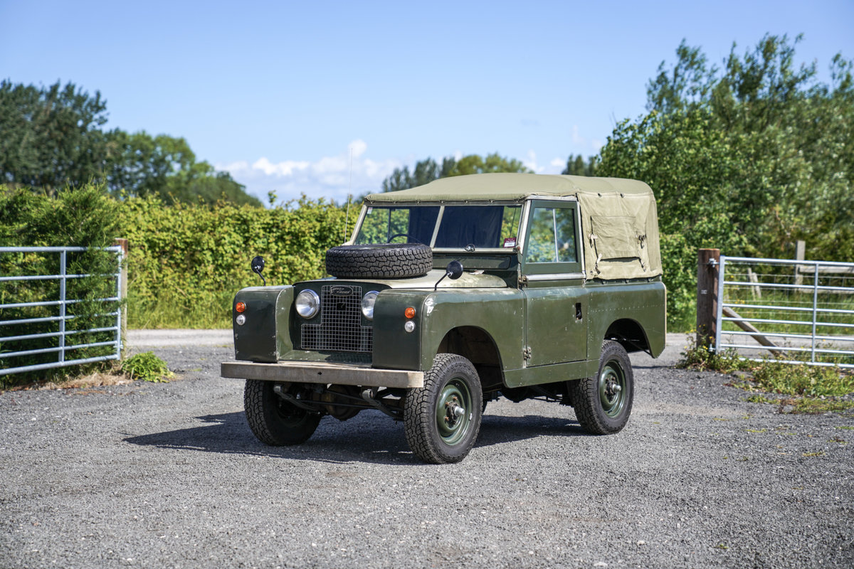"Land Rover Series 2a 88"" 1963 2.25 Petrol Very Original Exam SOLD (picture 1 of 6)"