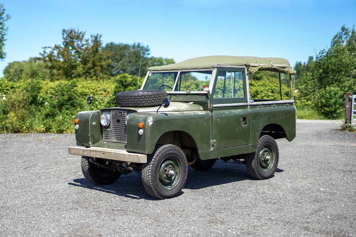 "Land Rover Series 2a 88"" 1963 2.25 Petrol Very Original Exam SOLD (picture 2 of 6)"