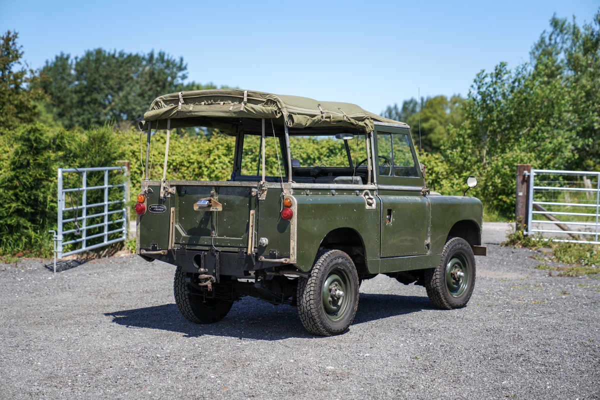 "Land Rover Series 2a 88"" 1963 2.25 Petrol Very Original Exam SOLD (picture 4 of 6)"