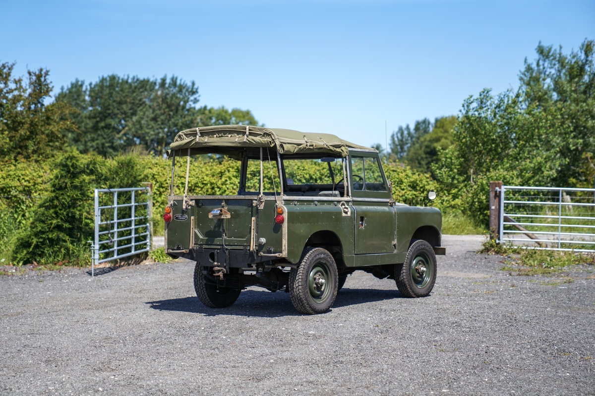 "Land Rover Series 2a 88"" 1963 2.25 Petrol Very Original Exam SOLD (picture 5 of 6)"