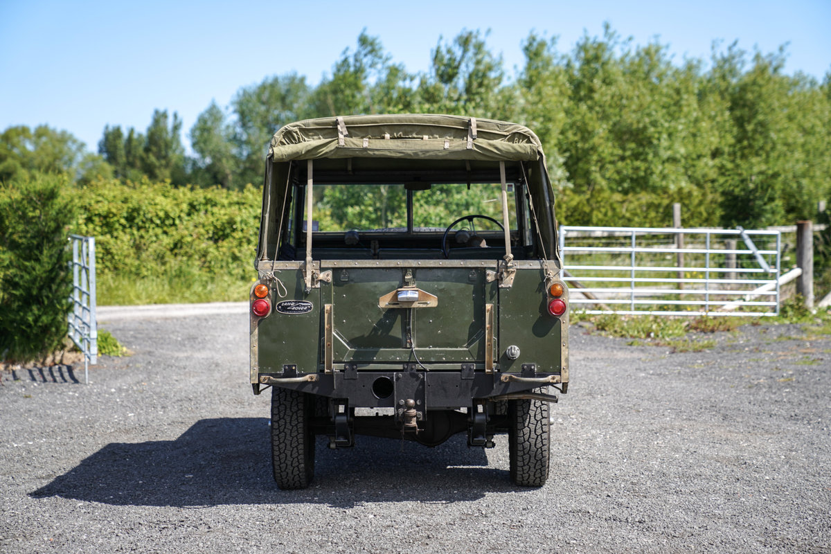 "Land Rover Series 2a 88"" 1963 2.25 Petrol Very Original Exam SOLD (picture 6 of 6)"