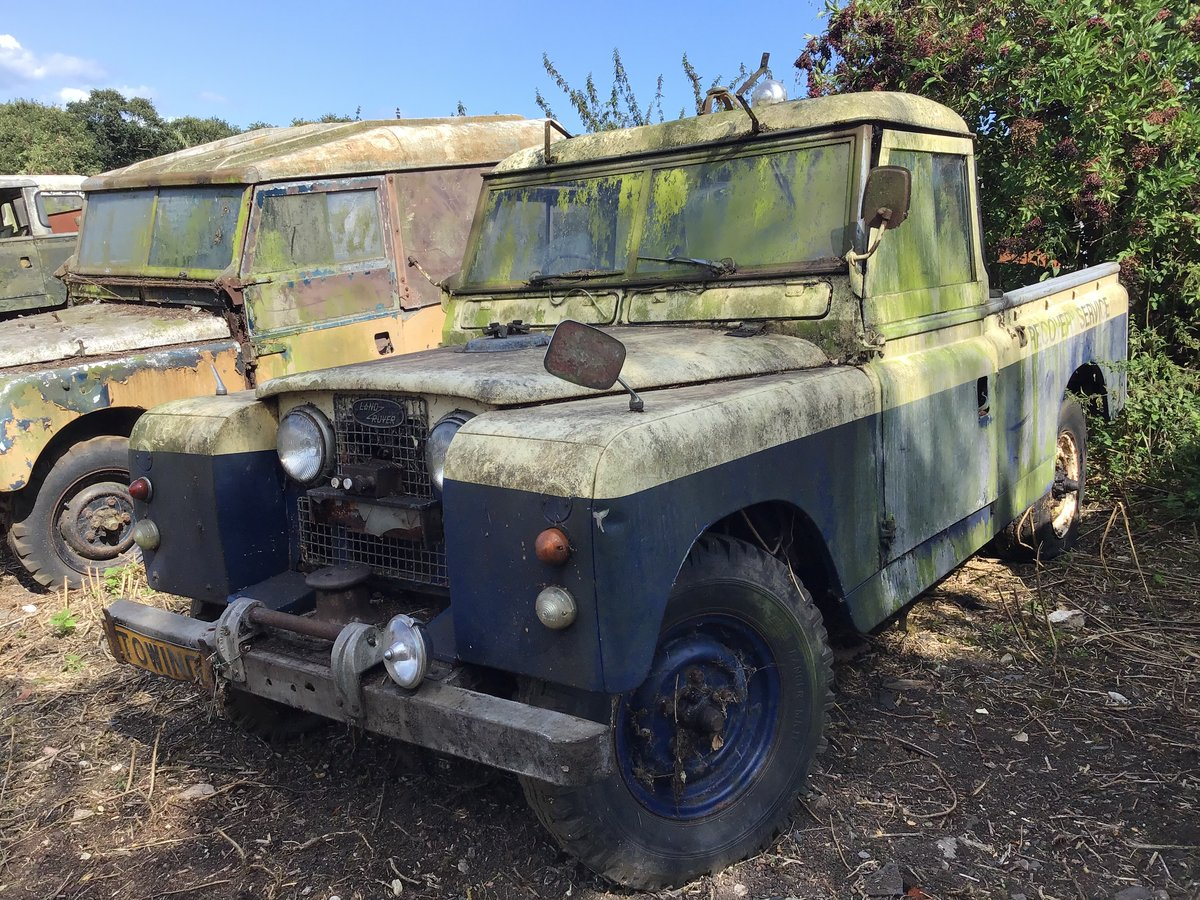 1959 Land Rover series 2 For Sale (picture 1 of 4)