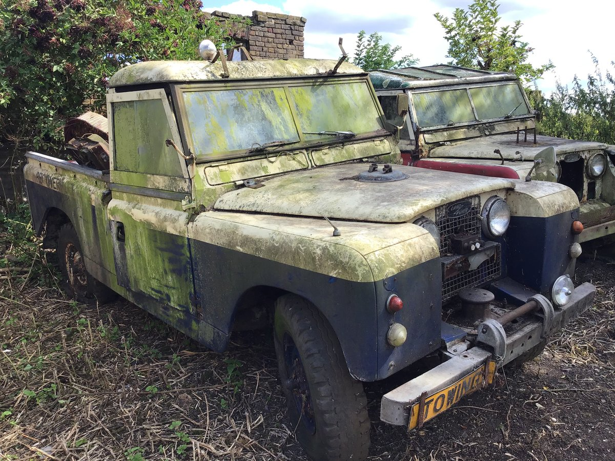1959 Land Rover series 2 For Sale (picture 3 of 4)