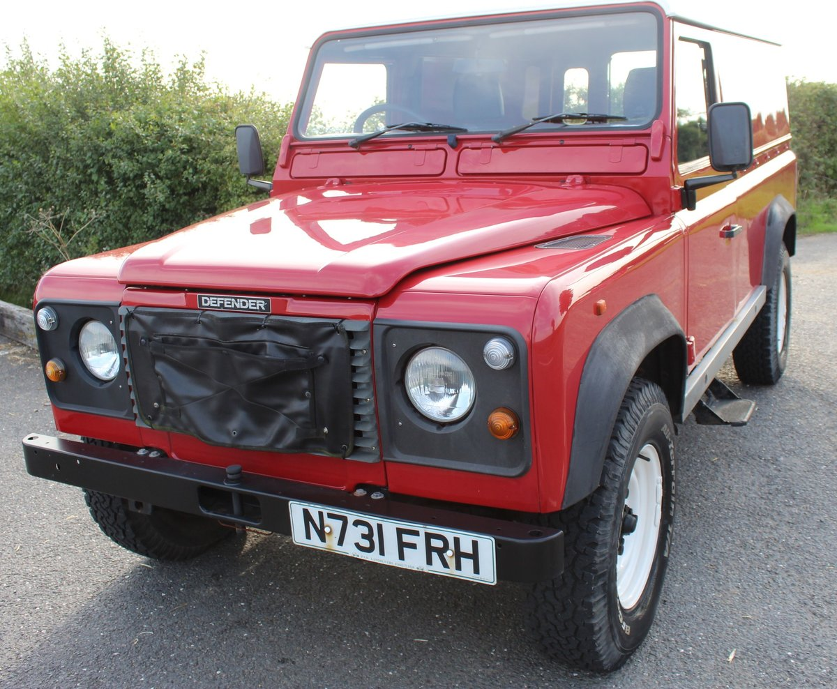 1996 Land Rover 110 Defender TDi  4 former keepers For Sale (picture 2 of 6)