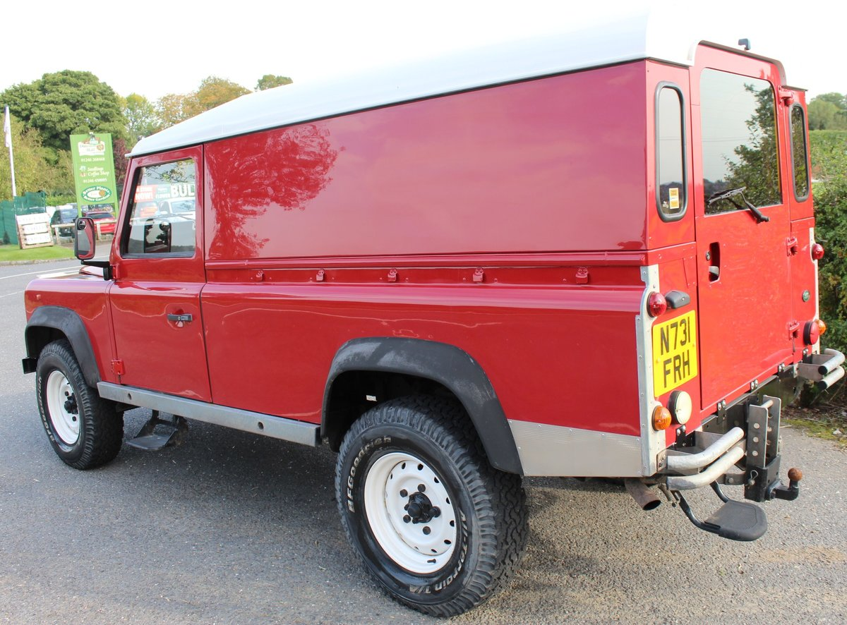 1996 Land Rover 110 Defender TDi  4 former keepers For Sale (picture 3 of 6)