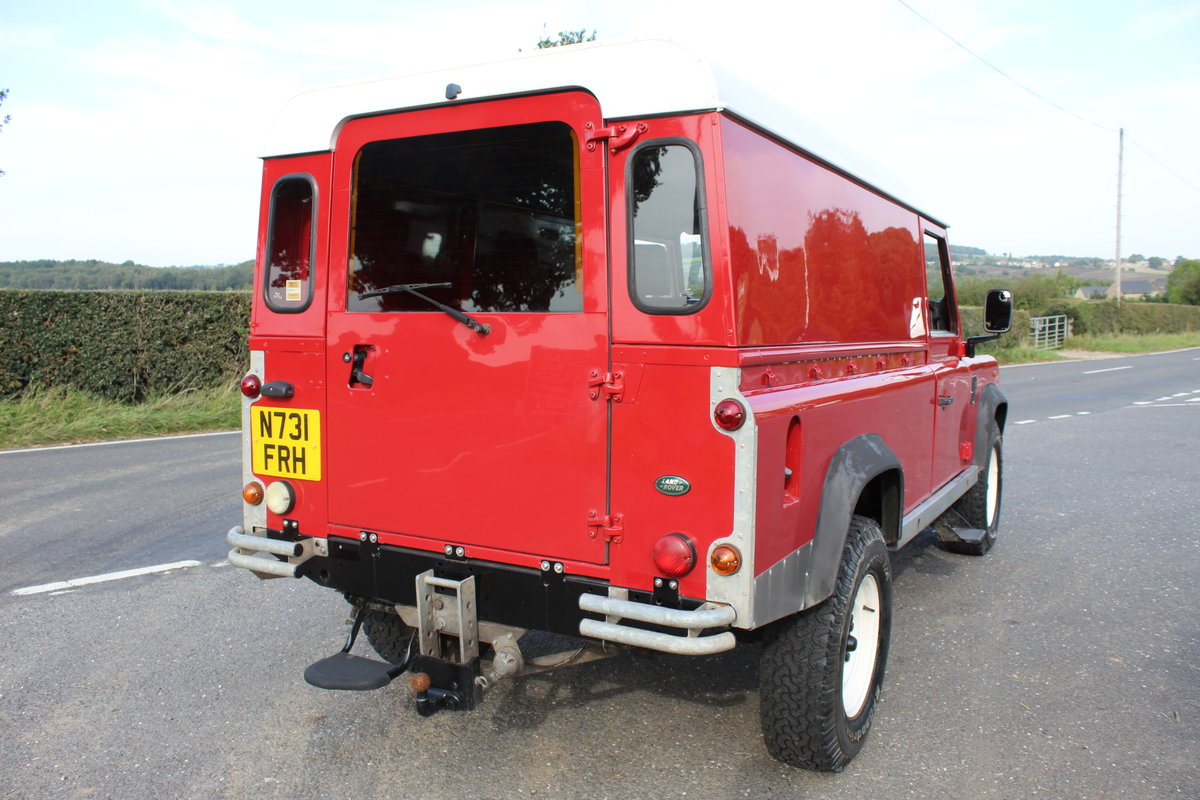 1996 Land Rover 110 Defender TDi  4 former keepers For Sale (picture 5 of 6)