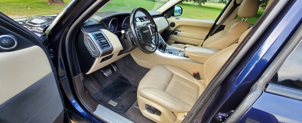 2013 (63) LHD RANGE ROVER SPORT, 3.0SDV6,LEFT HAND DRIVE For Sale (picture 5 of 6)