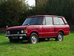 Picture of 1971 Range Rover 'Two Door' For Sale by Auction