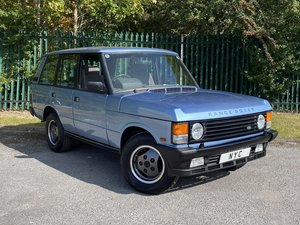 RANGE ROVER CLASSIC 3.5 EFI VOGUE SE - LOW MILES, STUNNING