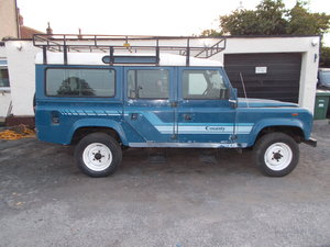 1986 Land Rover 110 4C SW D Station Wagon