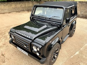 exceptional 2009 Defender 90 SVX soft top fast road stage 2  For Sale