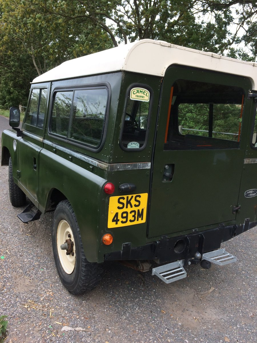 1974 Land Rover series 3 SOLD (picture 2 of 6)