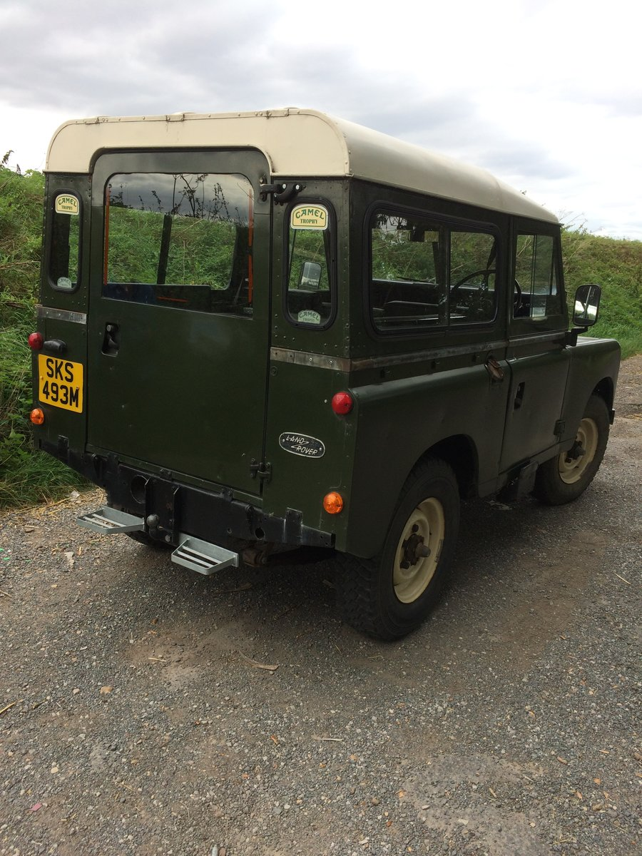 1974 Land Rover series 3 SOLD (picture 4 of 6)