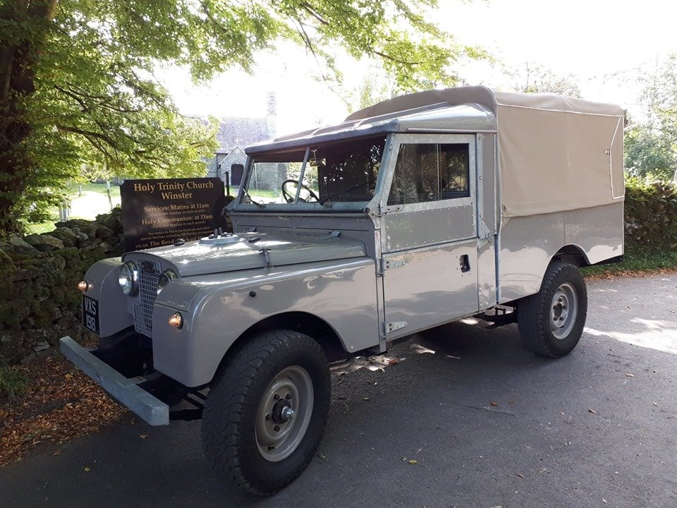 1955 ''Old grey'' comes up  For Sale (picture 1 of 4)