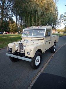 1955 200 bhp Landrover 107 V8 For Sale