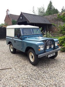 1981 Land Rover Series 3 fully restored