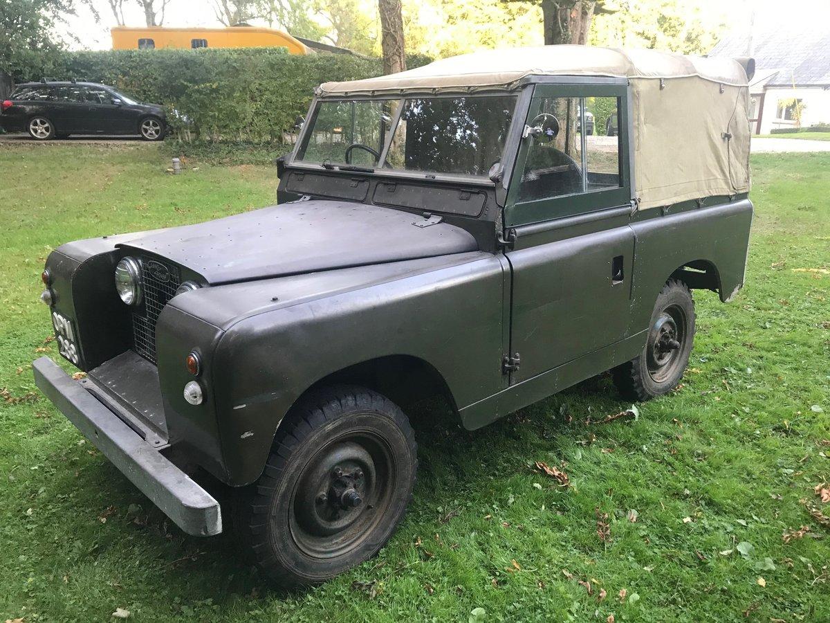 "Land Rover Series 2 1958 Built 88"" 2.25 petrol, Survivor! For Sale (picture 1 of 6)"