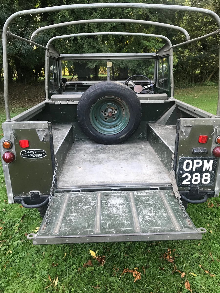 "Land Rover Series 2 1958 Built 88"" 2.25 petrol, Survivor! For Sale (picture 3 of 6)"