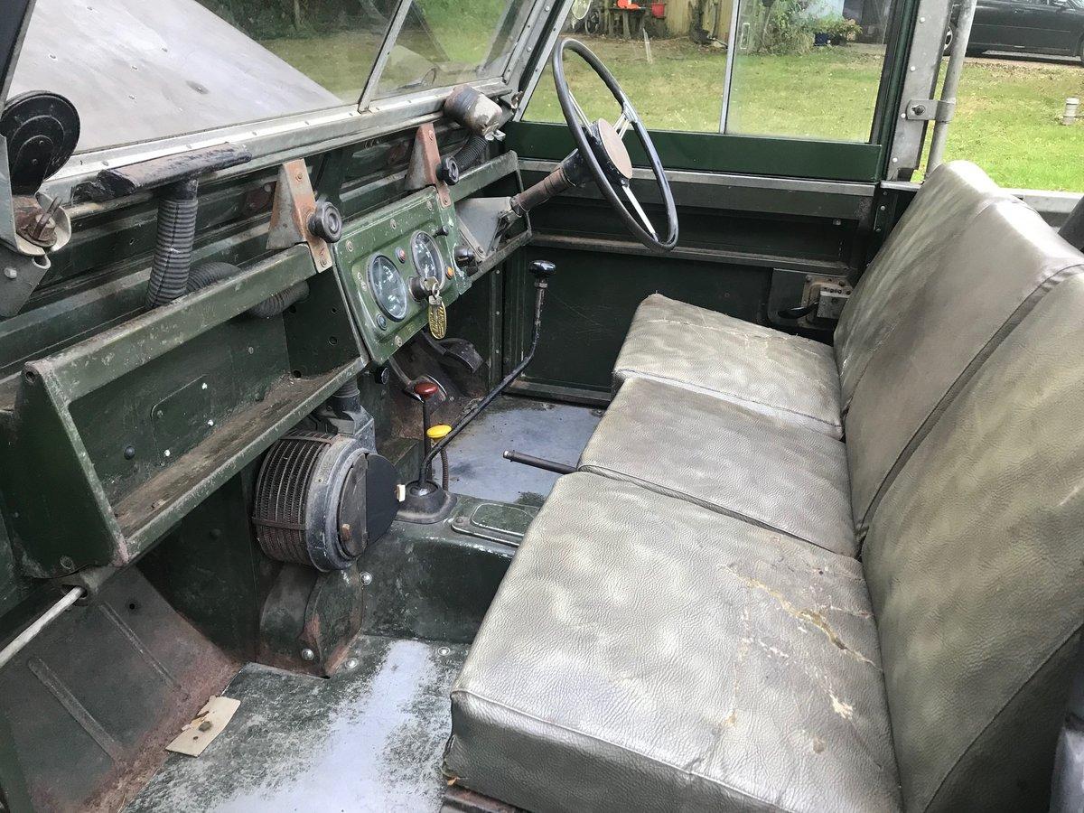 "Land Rover Series 2 1958 Built 88"" 2.25 petrol, Survivor! For Sale (picture 6 of 6)"