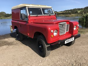 1959 Land Rover Series 2, Galvanised chassis, Overdrive , 2.5 pet