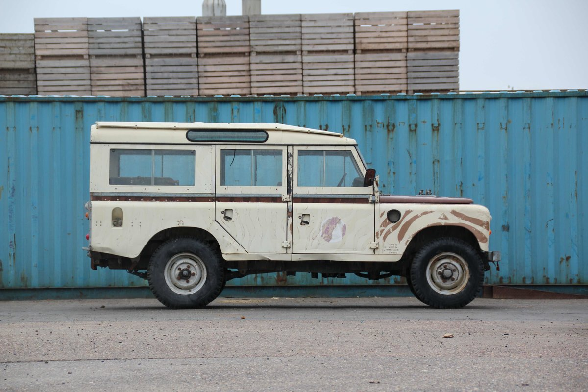 1981 LAND ROVER SERIES III 109 STATION WAGON (SOLD) For Sale (picture 4 of 4)