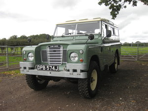 1970 Land Rover Series 2a LWB