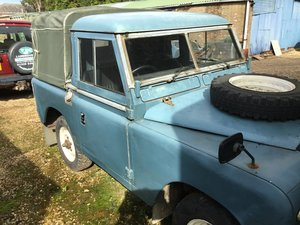 "1975 Land Rover Series 3 (88"" Truck Cab)"