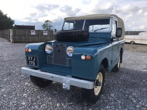 1960 Land Rover® Series 2 *Galv Chassis and Bulkhead* (XYJ) For Sale