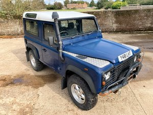 2001 DEFENDER 90 TD5 6 SEATER+IDEAL FOR OFFROADING ETC