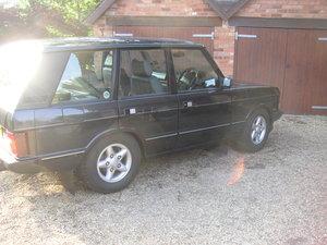 "1995 Range Rover ""Classic"" Vogue SE soft dash 4.6 V8"