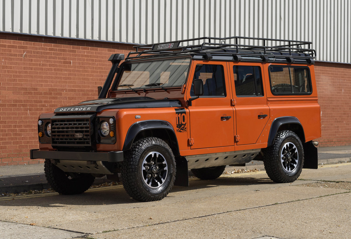 2016 Land Rover Defender 110 Adventure (LHD) For Sale (picture 1 of 24)