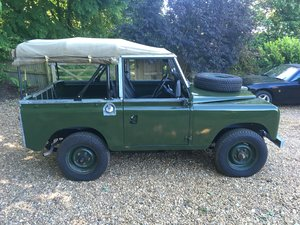 "1969 Landrover Series 2A 88"" For Sale"
