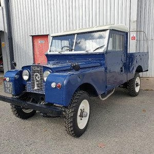 Picture of 1958 series 1 diesel 109 landrover SOLD