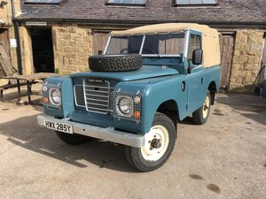1983 lSoft Top land Rover Series 3 For Sale