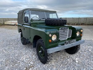 1975 Land Rover® Series 3 *Tax & MOT Exempt Ragtop* (JTU)