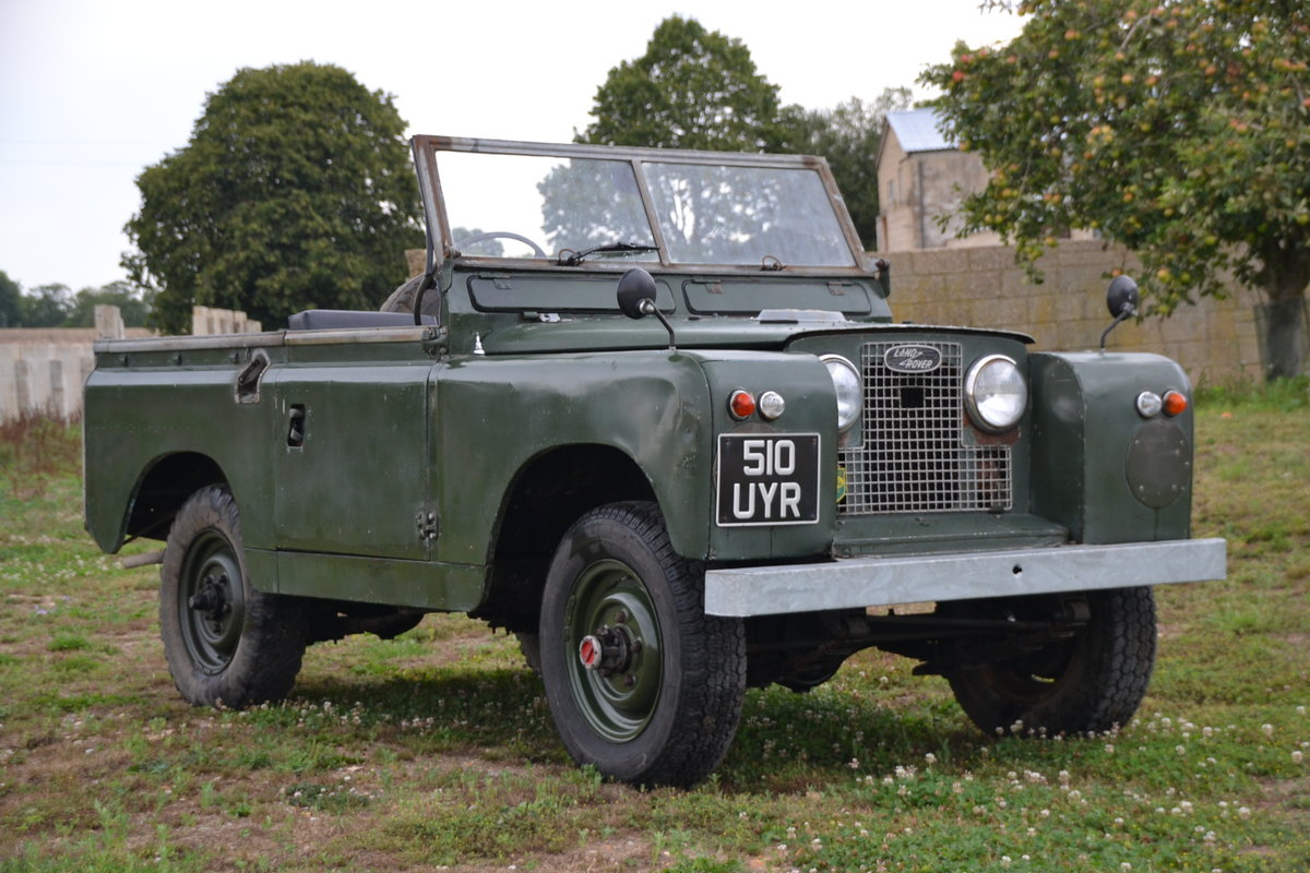 1960 Land Rover Series 2 88 For Sale (picture 1 of 6)