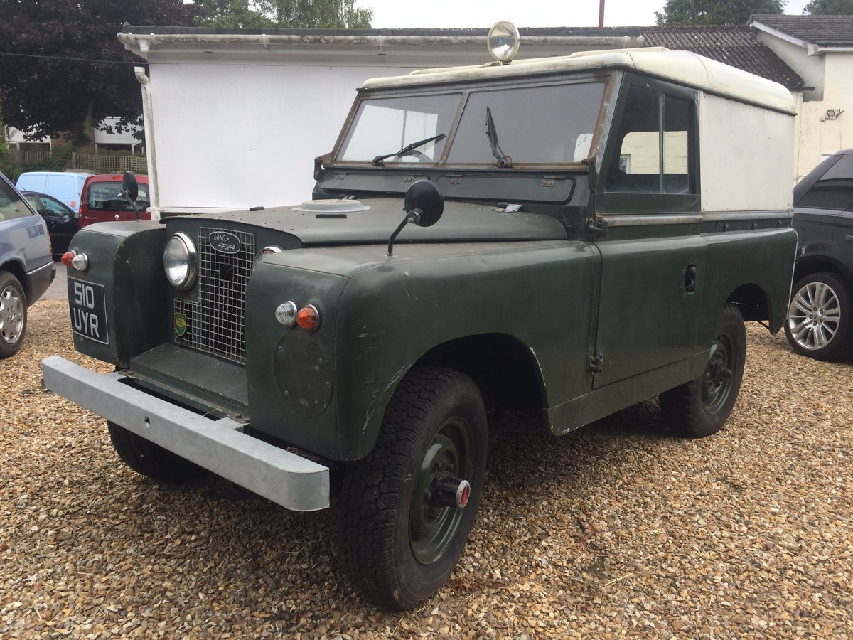 1960 Land Rover Series 2 88 For Sale (picture 6 of 6)