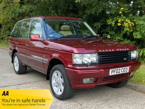2002 Range Rover P38 4.6 Vogue SE V8 - Amazing Example