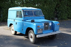 "Land Rover 88"" 4 Cyl 1966 - To be auctioned 30-10-20"