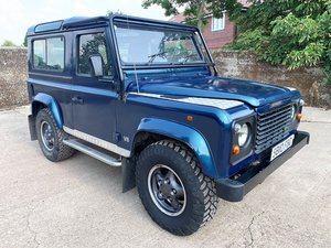 defender 90 50th anniversary 4.0V8 +1 owner past 20 years