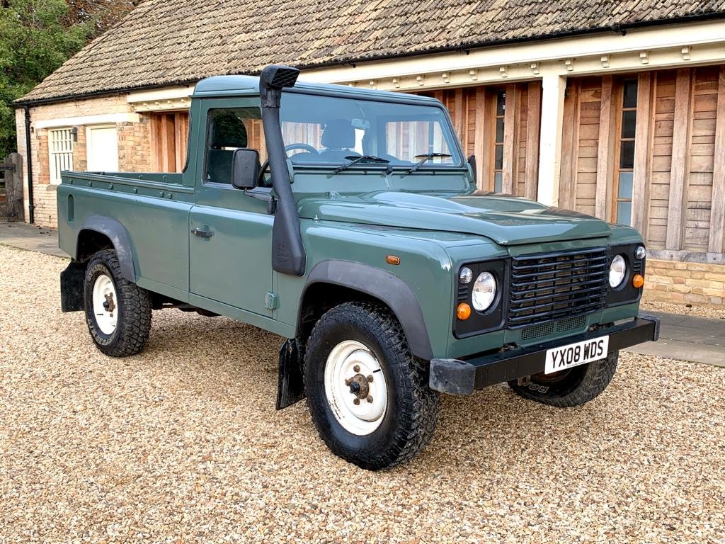 2008 LAND ROVER 110 2.4TDci Pick Up  For Sale (picture 1 of 6)