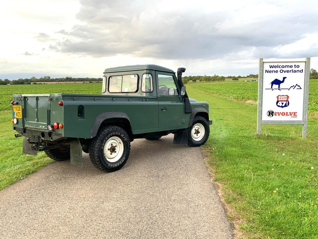 2008 LAND ROVER 110 2.4TDci Pick Up  For Sale (picture 3 of 6)