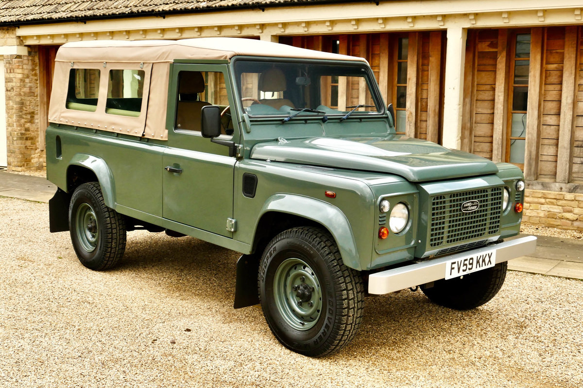 2008 LAND ROVER 110 2.4TDci Pick Up  For Sale (picture 4 of 6)